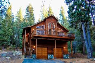 Private Tahoe Donner Home Nestled in the Trees